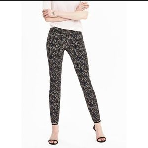 Banana Republic Sloan Ditsy Floral Ankle Pants